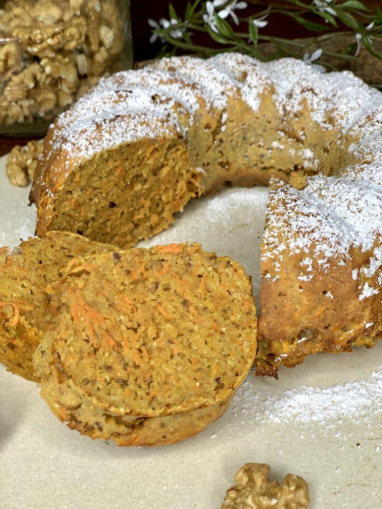 Rüblikuchen | Gesunder und saftiger Karottenkuchen