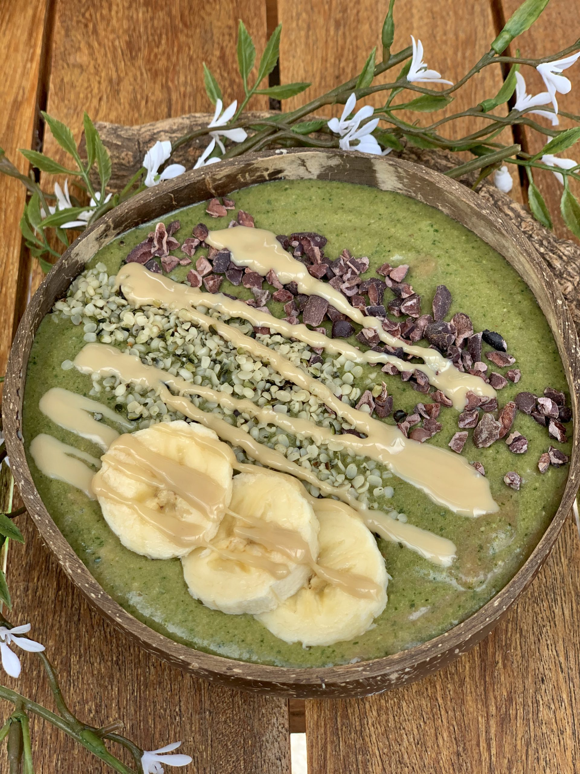 Smoothie Bowl | Creamy Chocolate Bowl & Green Smoothie Bowl