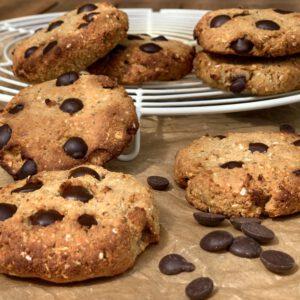 Gesunde Chocolate Chip Cookies